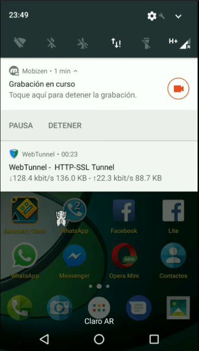 Internet gratis ilimitado Claro Argentina con web tunnel 2017
