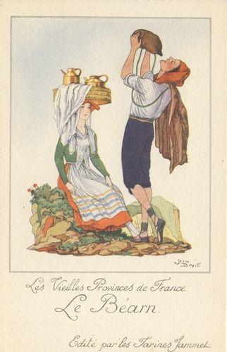 Carte postales anciennes Costume-du-bearn
