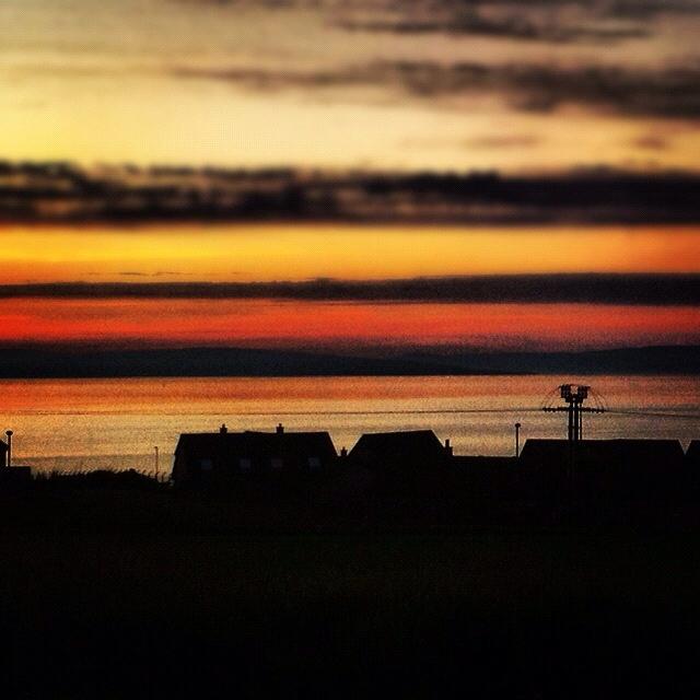Kirkwall sunset, 27.05.2012