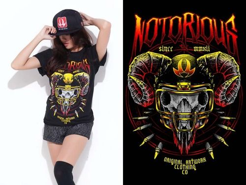 Artwork DONE for NOTORIOUS Store n Clothing