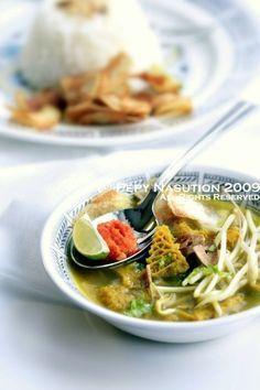 Indonesian soto babat (beef tripe) recipe