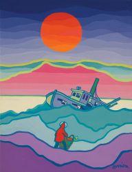 Artwork Wednesday: Remembering Ted Harrison