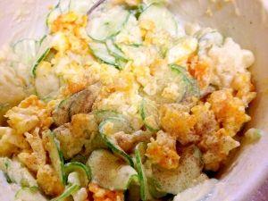 和からし入りポテト卵サラダ