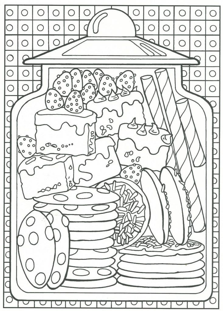 Food Coloring Pages Food Coloring Pages Candy Coloring Pages