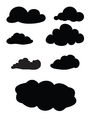 ok don't laugh but i've always been on the lookout for some nice cloud templates that I can print and cut myself for a dog layout about taking my precious babies to the dog park.  This will work!  I've tried making free style clouds without success....