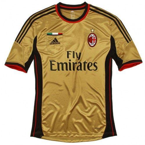 Maglia AC Milan 2013-2014 3rd Soccer