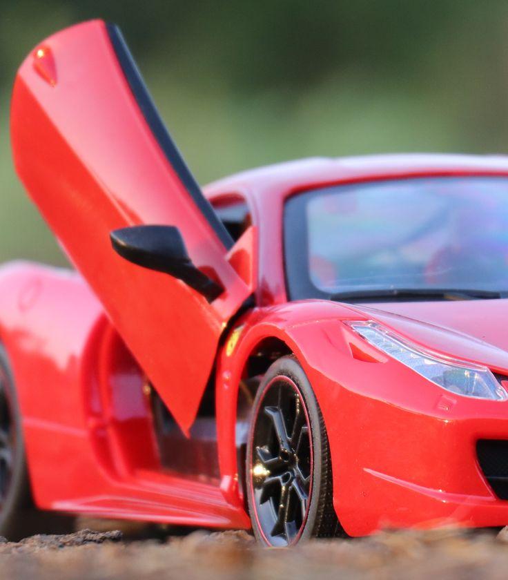 Rc Sports Cars Ferrari Car Toys Red