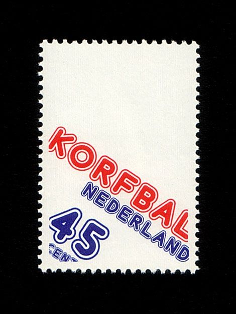 Korfbal-dutch-stamp nederland