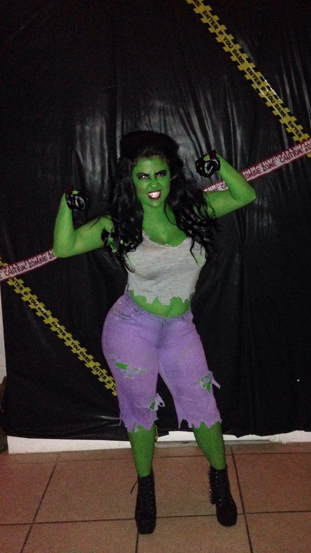 She Hulk Costume!!