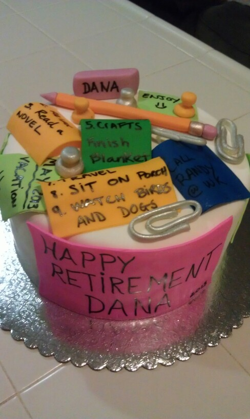 Happy Retirement cake by Patti Cakes | Retirement party ...
