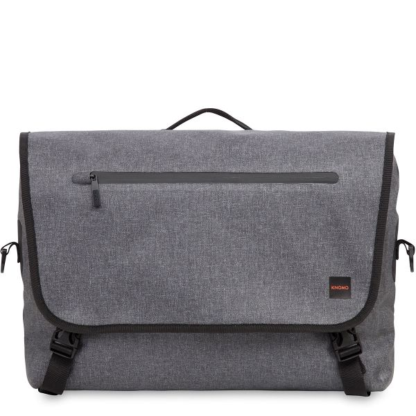 Water-resistant, padded protection to keep your laptop safe, so you can let your mind and body roam free. Keep your devices, large and small, together in this on-the-go, slick messenger design from the Thames collection