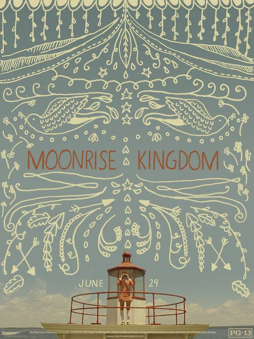 Moonrise Kingdom is such a great film! If you haven't heard of the director Wes Anderson you should check him out. His movies are amazing!!