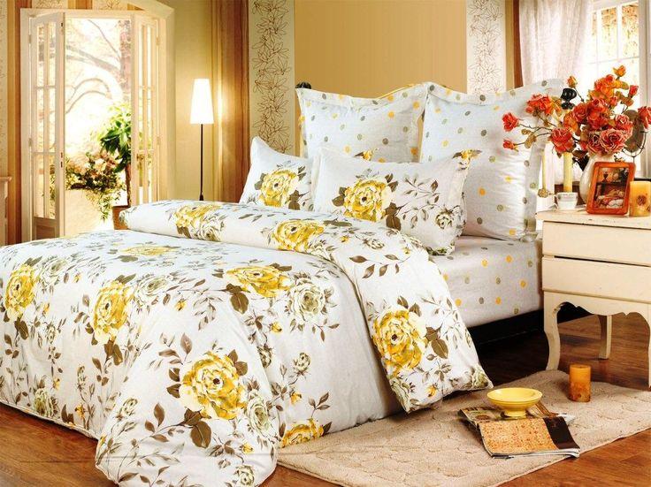 Постельное белье известного мирового бренда СайлиД | Артикул: B119 | Ткань: Сатин | Купить подушки и одеяла | Продажа оптом и в розницу | Каталог, цены, фото