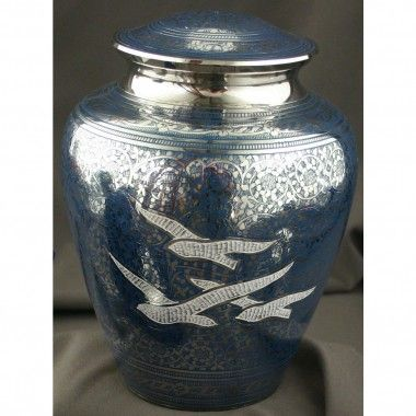 Star Legacy Wings of Freedom Large Adult Urn with Velvet Bag - SL6341L