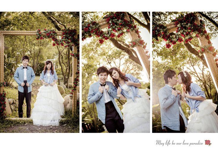 ✿ 婚紗本分享 ✿ 80頁美編設計自己來,一千元搞定~啦啦啦-第1頁-結婚經驗交流討論區-非常婚禮veryWed.com