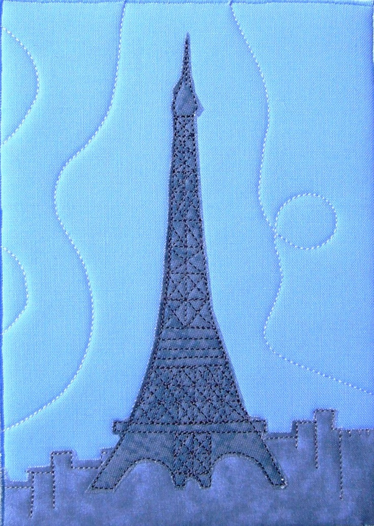 32 Best Images About Eiffel Tower Quilts On Pinterest