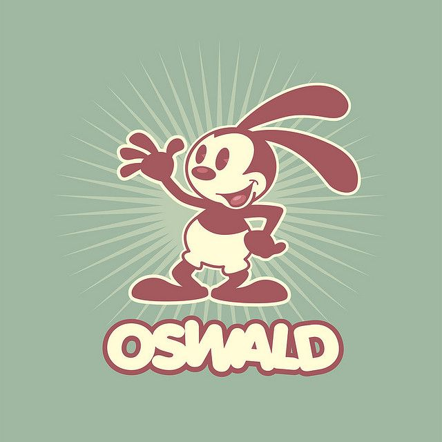 Oswald The Lucky Rabbit by Jerrod Maruyama, via Flickr. I have to say, I really love all the Oswald merchandise in the parks.