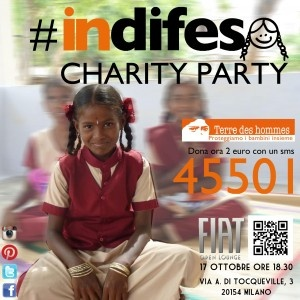 #indifesa Charity party