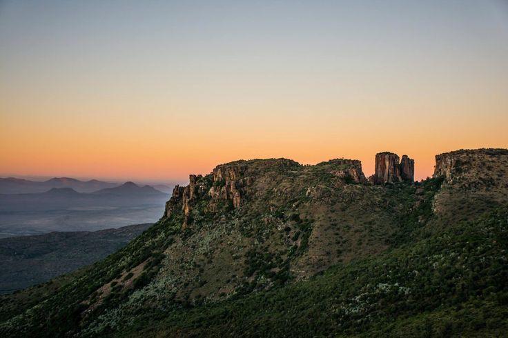 Dawn, valley of desolation