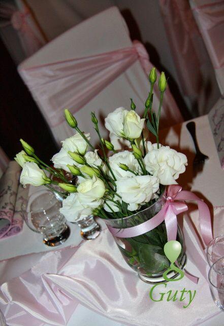 Wedding flower decorations Svadobná kvetinová výzdoba