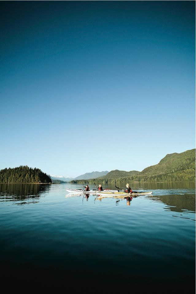 The Best Canadian Adventures: Climb British Columbia's Okanagan Valley. (Pictured: Paddling out in Tofino, B.C.) #Canada