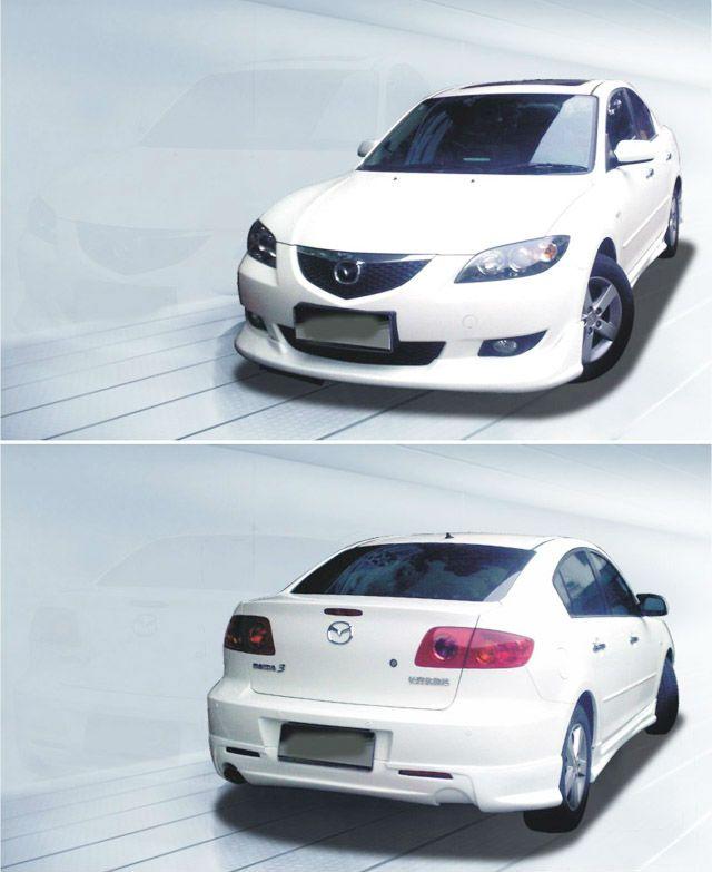 PP Body Kit for Mazda 3 2006-2009 $100~$150