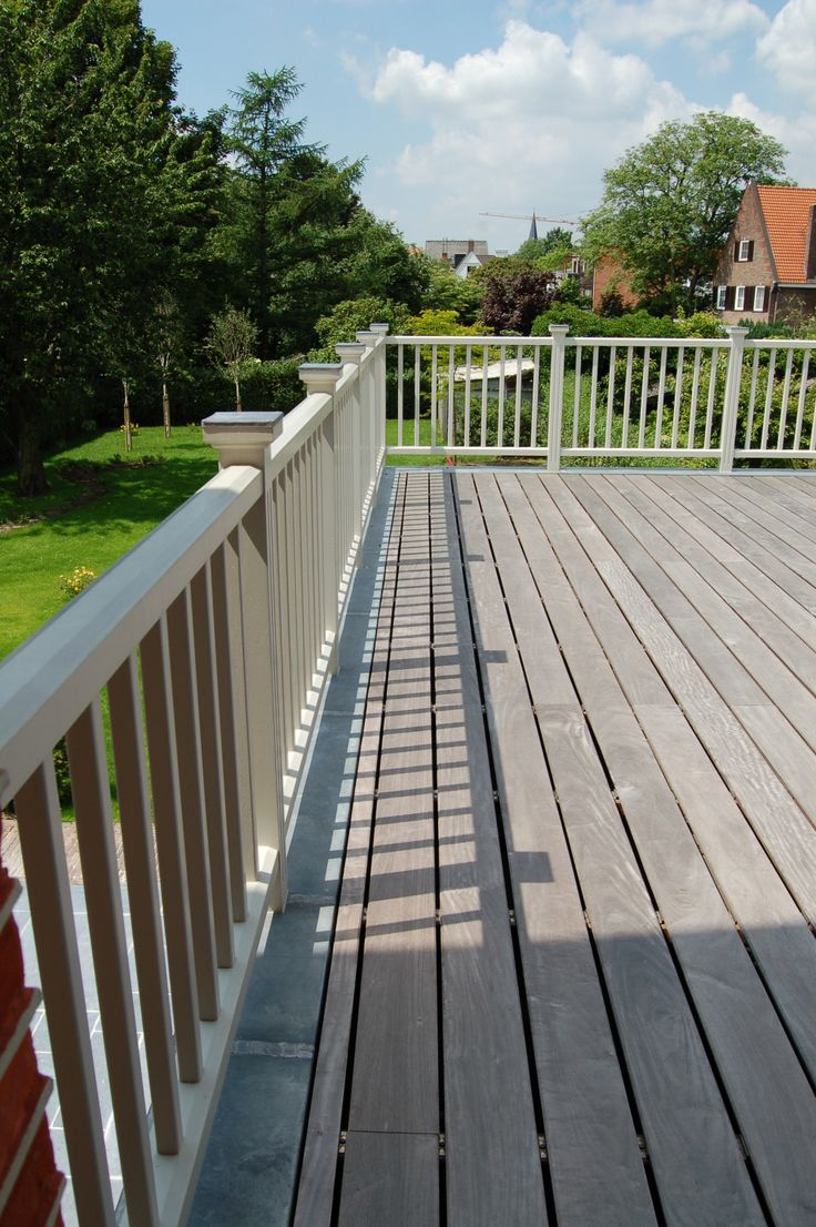 17 best images about balustrade stuyts realisatie on pinterest style met and long island - Buiten terrassen ...