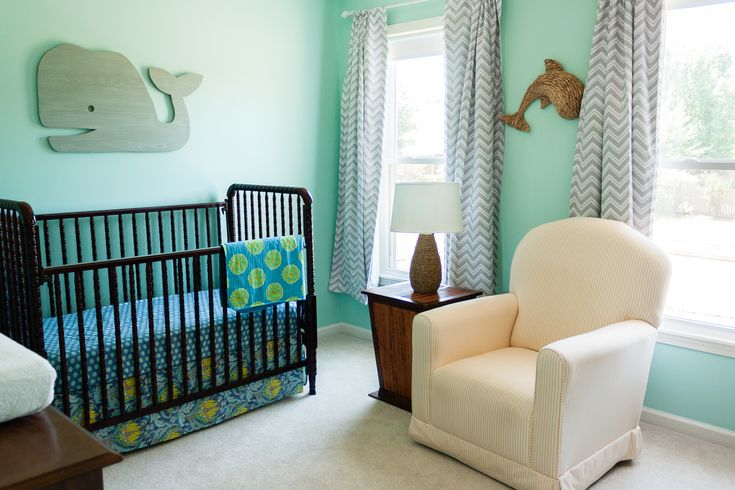 Ocean Themed Nursery: Ocean Theme Baby Room Girl, Tropical Reef ...
