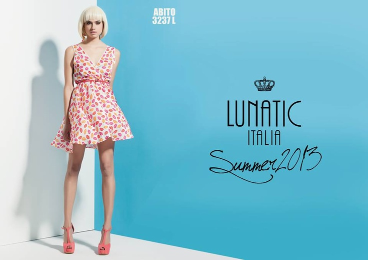 LUNATIC SUMMER COLLECTION 2013 FASHION WOMAN MADE IN ITALY http://www.lunatic.it/   print dress abito stampato summer2013 estate 2013