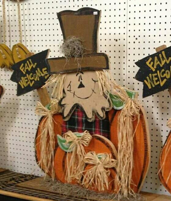 cute fall wood craft