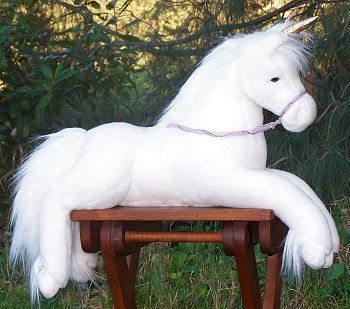 Abracadabra Stuffed Plush Unicorn
