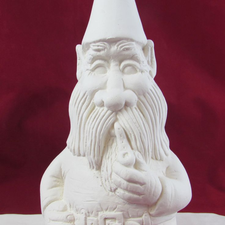 Ceramic Gnomes To Paint: 84 Best Unpainted Ceramics Images On Pinterest
