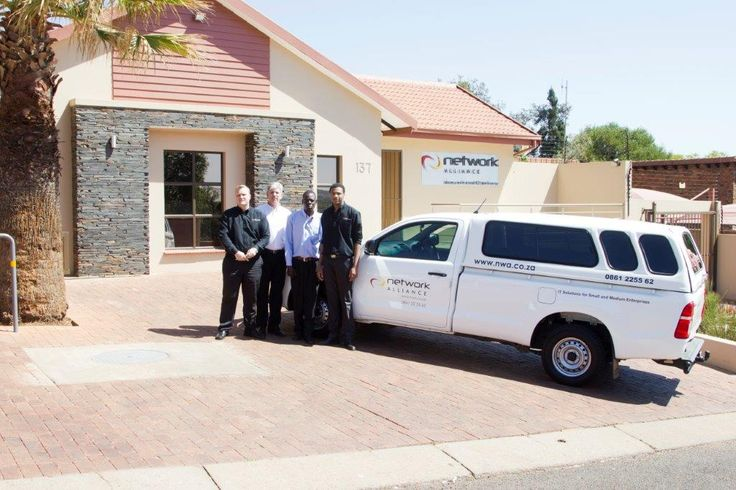 NWA on the move with our branded vehicle