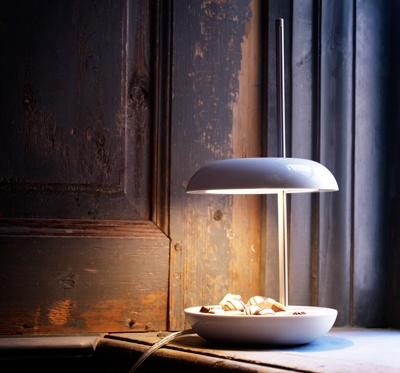 New from IKEA in February - LEKARYD adjustable clam shell table lamp with LED