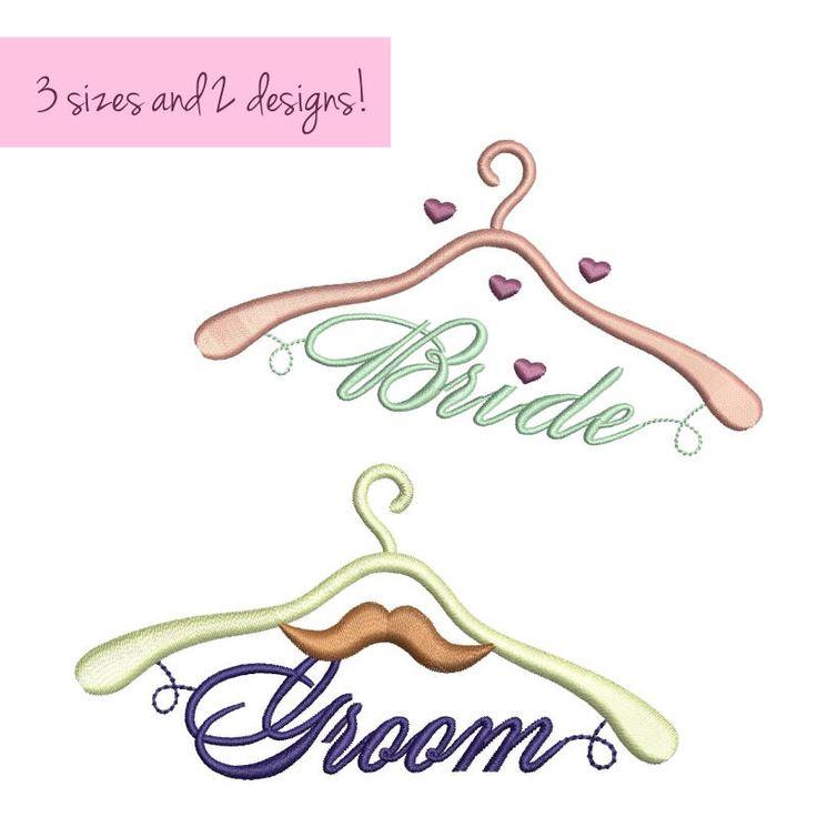 Bride Groom embroidery machine designs Heart design towel wedding pattern married love pes instant digital downlod towel design hoop file by SvgEmbroideryDesign on Etsy