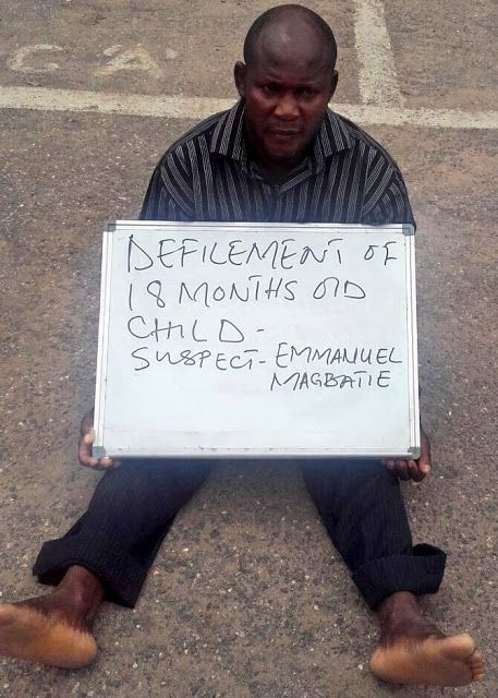 Tea time with Cladora: Lagos, Nigeria-47 yrs old man arrested for molesti...
