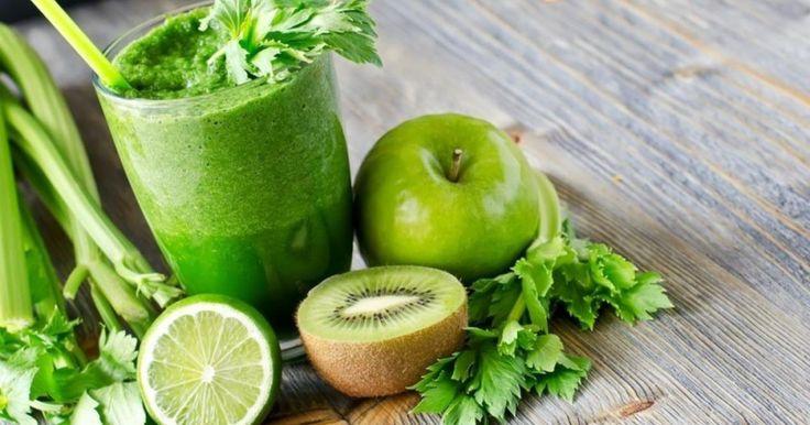 5 зеленых смузи для похудения