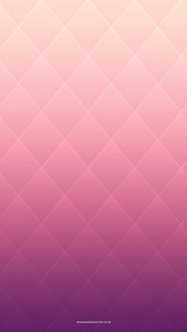 iPhone wallpaper. Quilted pink ombre. You can just expand it to cut off the url at the bottom - why someone would think others want a url on their phone wallpaper is beyond me.