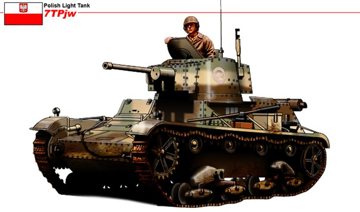 7TP Polish Light Tank. Pin by Paolo Marzioli