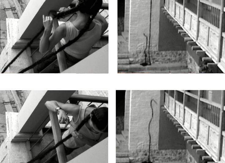 Still de video Rapunzel, Alejandra Alarcón