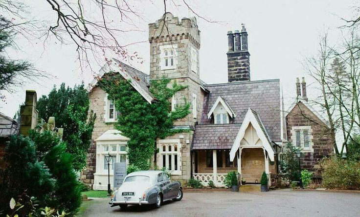 The outside of the gorgeous West Tower, Aughton.