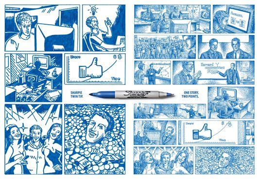 print ads: sharpie