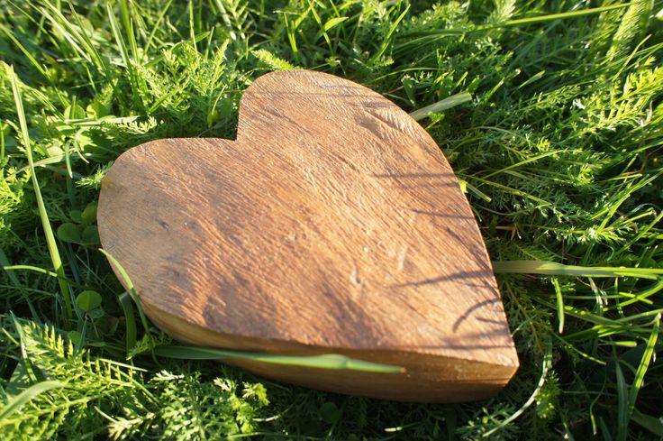 Srdce - ořech