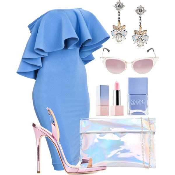 A fashion look from January 2016 featuring Giuseppe Zanotti sandals and Fendi sunglasses. Browse and shop related looks.