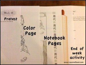 Mystery of History Notebooks