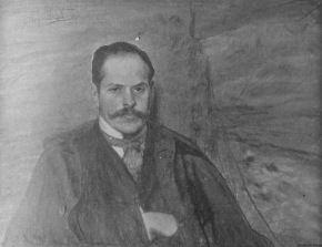 Leon Wyczółkowski - portret Kazimierza Przerwy-Tetmajera