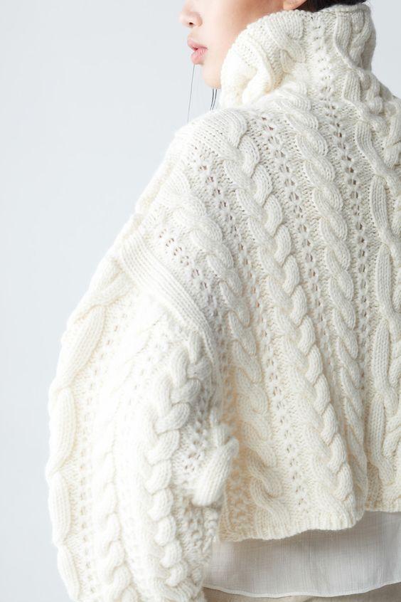 Ишу описание вязки на пуловер