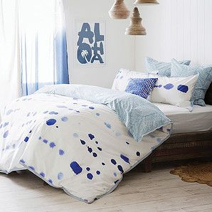 Love this set! This would even work for the boys' room... | Misty Quilt Cover Set – Target Australia