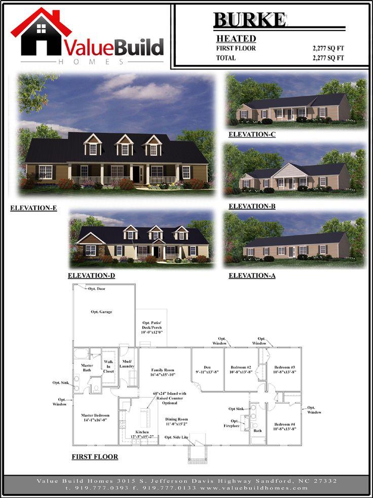 19 best Our House Plans images on Pinterest Floor plans Custom