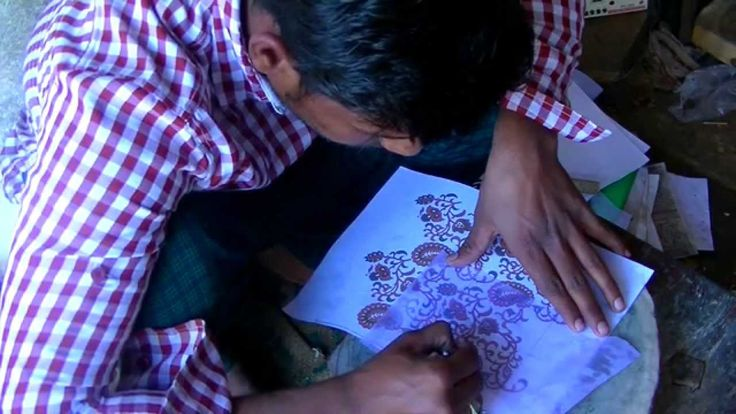 JUST : Block Printing at Mehera Shaw
